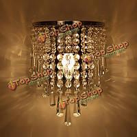 Современные хрустальные люстры настенный светильник светильник 220В