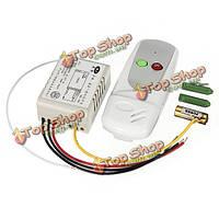 Беспроводной анти-интерференции света лампы 1way пульт дистанционного управления 220/110В