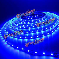 5м 300 LED SMD 3528 синий водонепроницаемый DC 12В LED прокладки, фото 1