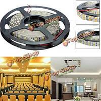 5м двухрядные 600 SMD 5050 Non-водоустойчивое 12V LED полосы света, фото 1