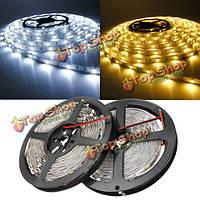 5м SMD 5050 не водонепроницаемый 150 LED полосы света 12V постоянного тока, фото 1
