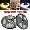 5м SMD 5630 300 LED полосы света DC 12V IP65 водонепроницаемый