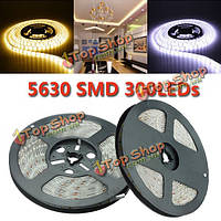5м SMD 5630 300 LED полосы света DC 12V IP65 водонепроницаемый, фото 1