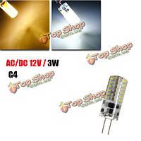 G4 3w белый/теплый белый 48 SMD 3014 12 LED кукуруза лампа, фото 1