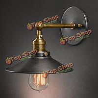 Америке стиль страна винтажный настенный светильник Эдисон лампочку железа, фото 1