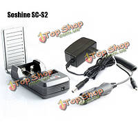 Soshine СК-С2 17670 18650 литиевая батарея зарядное устройство 2 слота