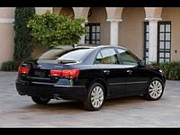 Бампер задний и фонари на  Hyundai-Sonata(Хюндай Соната) 2005-2007
