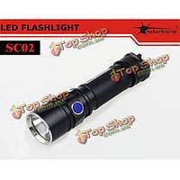 Solarstorm sc02 Cree XML2 в Т6-3с/У2-1А 580lm LED фонарик