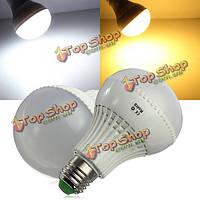 Лампа светодиодная LED шарик Е27 9 Вт переменного тока SMD 5730