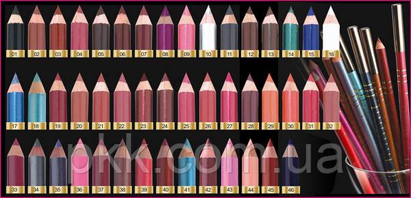 Олівець дерев'яний MALVA COSMETICS М 319   Безкоштовна доставка   Кращий  вибір і низькі ціни   Замовляйте!