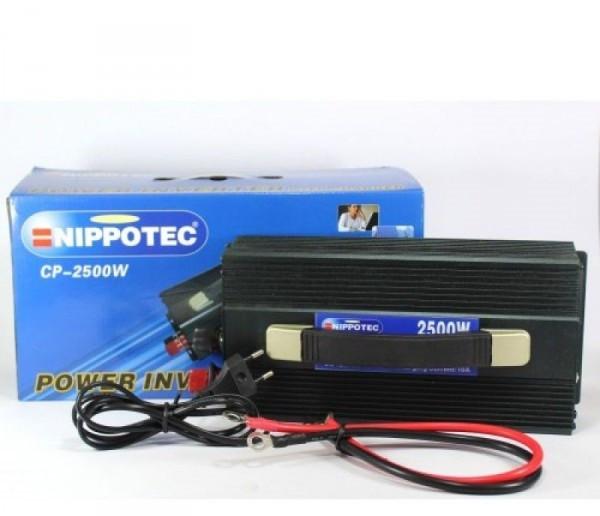 Преобразователь напряжения 12/220 на 3000 Вт. + Зарядное, автомобильный преобразователь
