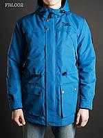 Весенне-осенняя куртка (парка) Staff - Blue 2016 Art. FRL0002 (синий)
