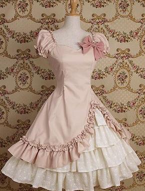 Женское Платье - Сарафан  Лолита.