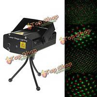 Мини-r & g лазерный свет освещение свет проектор диско 110-240v