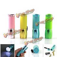 Многоцветный мини портативный LED фонарик 3xaaa