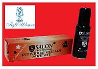 Клей для наращивания ресниц Salon professional 10г, черный оригинал