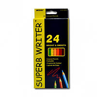 Цветные карандаши Марко 4100-24cb 24 цвета