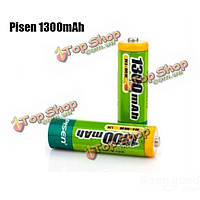 Pisen 1300мАh 1.2V Rechargeable Ni-MH AA Battery 2шт