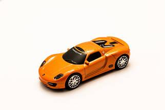 Флэшка PORSCHE SPIDER Оранжевый  4 GB , фото 2