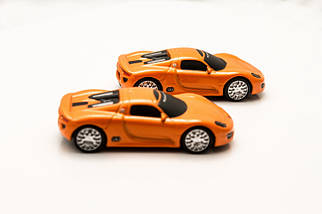 Флэшка PORSCHE SPIDER Оранжевый  4 GB , фото 3