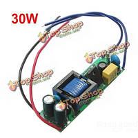 30Вт LED электроснабжение водителя постоянный ток для 110-240В прожектора