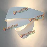 Италия современный дизайн простое улыбающееся лицо настенный светильник освещает белый/черный