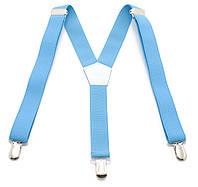 Подростковые подтяжки-резинка голубой цвет (100437)