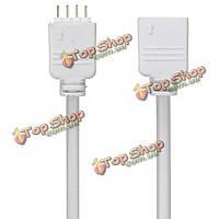 4-пен 5м удлинитель провода Разъемы для 5050/3528 RGB LED прокладки