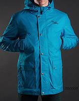 Весенне-осенняя куртка (парка) Staff - Membrana blue Art. FR0003 (светло-синий)