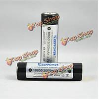 KeepPower 18650 3.7 в 3000мач защищенный литий-ионный аккумулятор