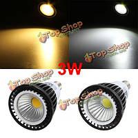 Пятно глыбы e14 LED 3w с регулируемой яркостью освещения вниз светло-белая/теплая белая лампочка 220v