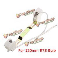 Цоколь патрон для лампы R7s 140 мм модифицированный