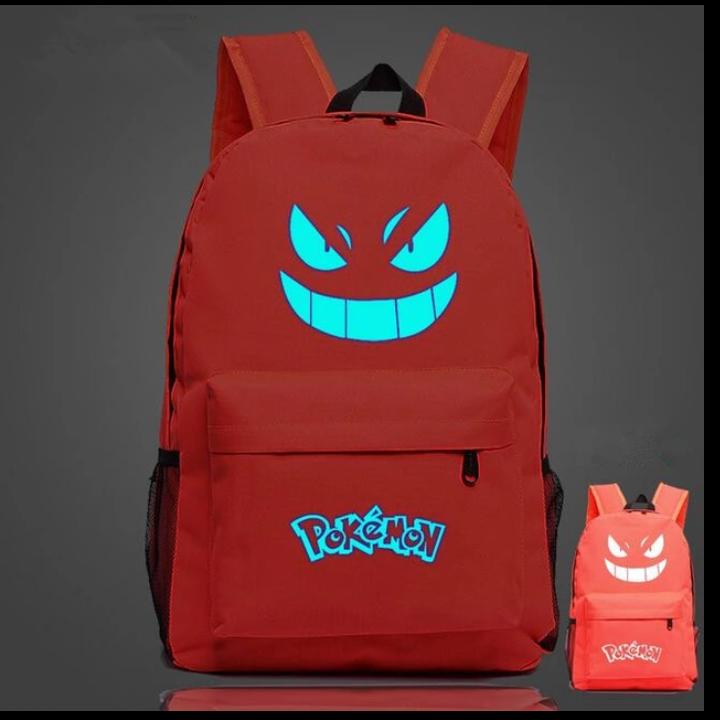 Рюкзак Pokemon Go светится в темноте (оранжевый)