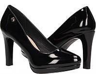 Женские лакированные туфли на каблуке