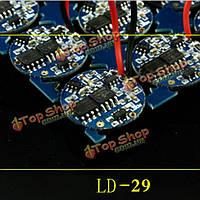 LED фонарик плате ldch ld29 2 групп 1шт
