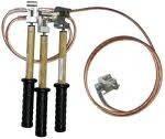 Заземления переносные для грозозащитного троса ВЛ 330-1150кВ: ПЗТ-330-500М, ПЗТ-750-1150М