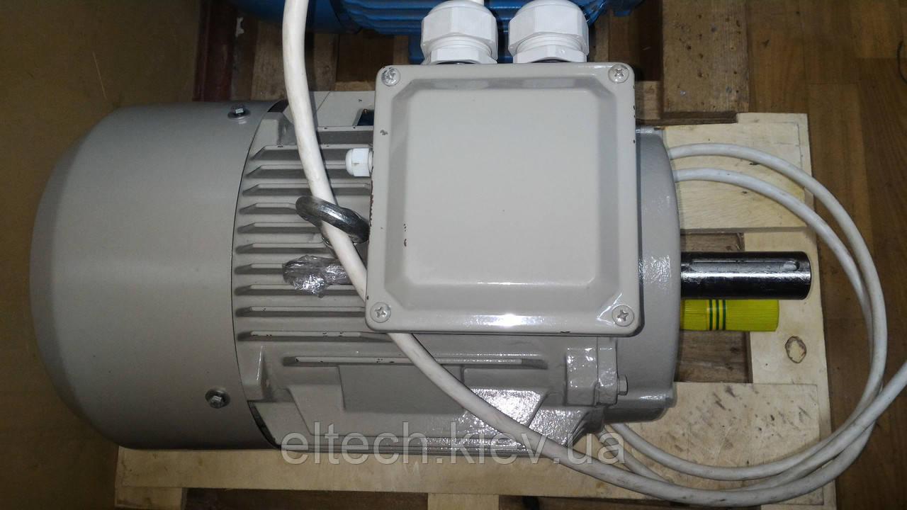 11кВт/3000 об/мин, лапы, 13ВA-160M-2-В3. Электродвигатель асинхронный Lammers