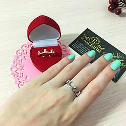 "Кольцо ""Анна""  в виде короны."