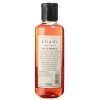 Травяной шампунь мед и миндальное масло, Кхади / Herbal shampoo, Honey & almond oil, Khadi / 210 ml