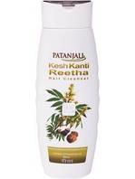 Натуральный шампунь от выпадения и для роста волос Кеш канти с мыльным орехом, Патанджали / Kesh Kanti, Patanj