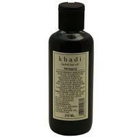 Травяной шампунь Aмла и Брингарадж,  Кхади /Herbal Shampoo Amla & Bhringaraj,  Khadi /210 Ml