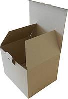 Коробка картонная (235x200x180), бурая