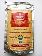 Органический чай Organic India/ Tulsi Chai Masala Tea/100 гр.