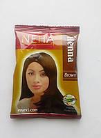 Натуральная хна для волос Неха Коричневая/ Herbal Neha, Broun/ 20 гр.