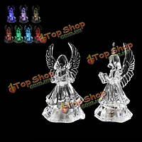 Изменение цвета ангел LED свет ночника новогоднее украшение подарок