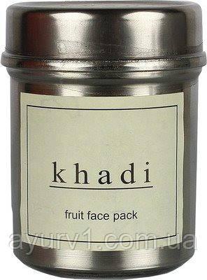 Натуральная маска для лица Фрукты, Кхади / Herbal face pack Fruit, Khadi / 50 gr