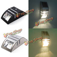 Нержавеющая сталь солнечной энергии выделить LED пир индукционный настенный светильник