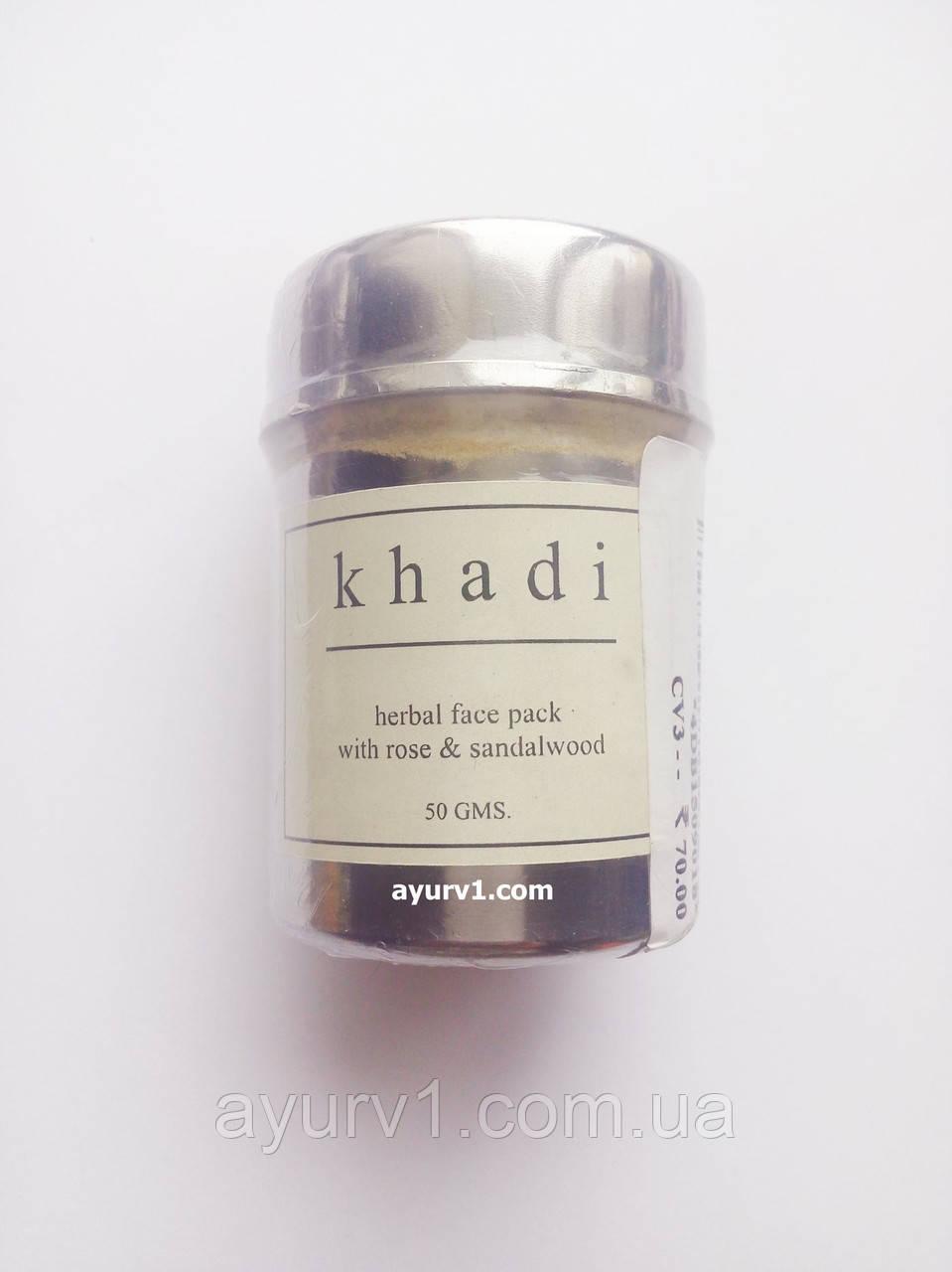 Маска от акне и прыщей, Кхади / Anti-Acne Face Pack, Khadi / 40 gr
