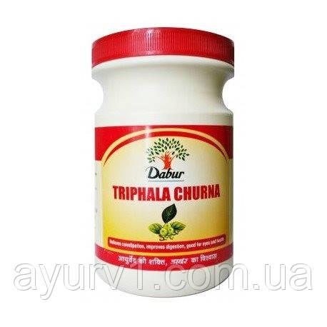Трифала Чурна, Дабур / Triphala Churna, Dabur / 500 gr