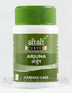 Арджуна, Шри Шри Аюрведа / Ardjuna, Sri Sri Ayurveda / 60 tab